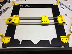 photo relating to Prusa Printable Parts named Prusa i3 - Wikipedia
