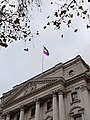 Purple flag at HM Treasury for 2017 IDPD.jpg
