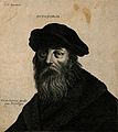 Pythagoras. Etching by F. L. D. Ciartres after (C. V.). Wellcome V0004826.jpg