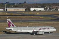 A7-AHX - A320 - Qatar Airways