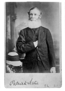 Queensland State Archives 3044 Portrait of Patrick Leslie 1877.png