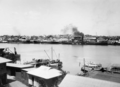 Queensland State Archives 58 Wharves and shipping South Brisbane Reach Brisbane River October 1930.png