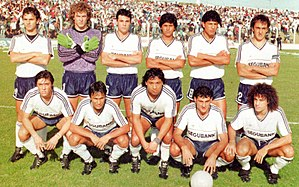 Quilmes Atlético Club - The 1990-91 squad that got promotion to Primera División