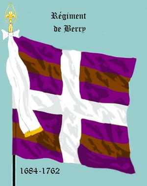 Régiment de Berry - Régiment de Berry (1684-1762)