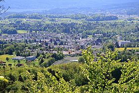 View from Batzberg to Rüti