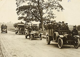 Irish War of Independence - RIC and British Army personnel near Limerick, c.1920