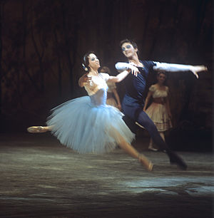 Māris Liepa - Image: RIAN archive 503819 Marina Kondratyeva and Maris Liepa in scene from Giselle