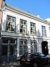 foto van Pand met verdieping en zadeldak, evenwijdig aan de straat, wellicht 18e eeuw