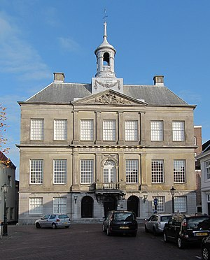 Leendert Viervant the Younger - The town hall of Weesp, one of Leendert Viervant the Younger's designs