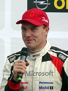 Jari-Matti Latvala Finnish rally driver