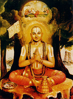 Ramanuja Hindu philosopher, exegete of Vishishtadvaita Vedanta school