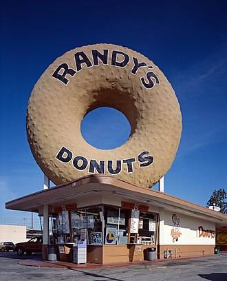 Randy's Donuts - A Randy's Donuts location in Inglewood, California.