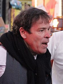 Randy Credico at a 2011 Occupy Wall Street demonstration in Times Square