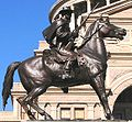 Ranger statue in front of Texas State Capitol.JPG