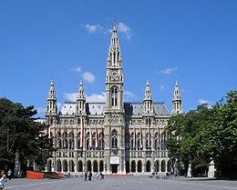 Rathaus vienne wikip dia for Boutique hotel vienne autriche