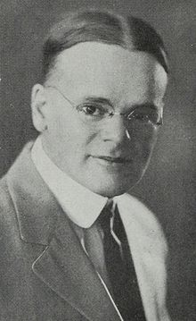 Ray Jerome Baker, 1922. Photo by Emma Freeman