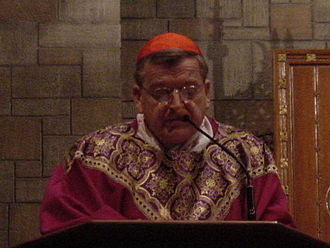 Raymond Leo Burke - Burke at a Mass at St. Clement Eucharistic Shrine in Boston, 2010