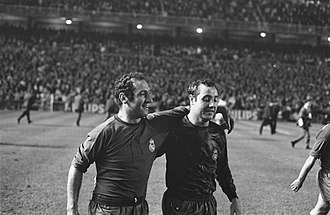 José Luis Veloso - Veloso in 1967 (Gento pictured left)