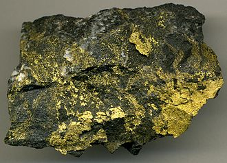 Red Lake Mine - High grade gold ore from Red Lake Mine