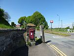 Red post box, Colton Road, Rugeley (34421498701).jpg