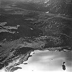 Redoubt Glacier, mountain glacier partially covered in rocks, September 4, 1977 (GLACIERS 6764).jpg