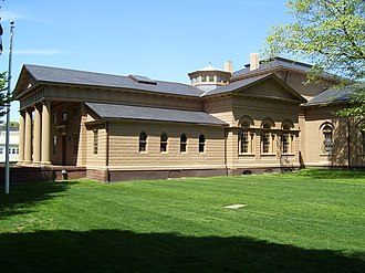 Redwood Library and Athenaeum - Redwood Library in 2008