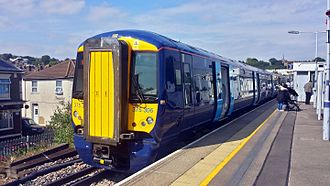 Southeastern (train operating company) - Image: Refurb 375306Strood 19June 15