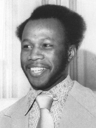 Reggie Jones (boxer) - Jones in 1972