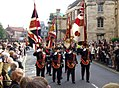 Regulation & Honorary Colours of the 3rd Bn Yorkshire Regiment (Duke of Wellington's) York 2007-09-22.JPG