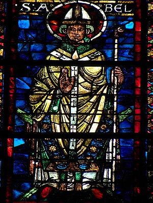 Abel of Reims - Image: Reims (51) Saint Rémi Baie 204 2