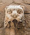 Relief head lion, Catedral, Almeria, Spain.jpg