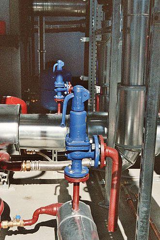 Relief valve - A relief valve