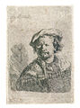 Rembrandt - Self-Portrait with a Flap Cap and Embroidered Vest.jpg
