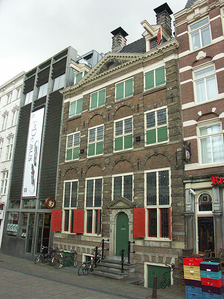 Ficheiro:Rembrandts house, Amsterdam.jpg