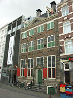 Rembrandt's house in Amsterdam, now the Rembrandt House Museum