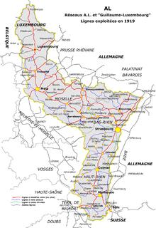 Carte Ferroviaire Alsace.Reseau Ferroviaire D Alsace Lorraine Wikipedia