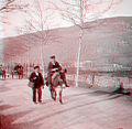 Retour de la foire, Foix, Ariège (en version anaglyphe) - Fonds Trutat - MHNT.PHa.45107.03.022.jpg