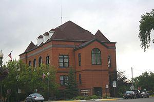 Rhinelander, Wisconsin - Image: Rhinelander Wisconsin City Hall