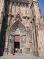 Right portal of the western facade of Notre-Dame de Strasbourg.JPG