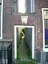 rijksmonumentaal poortje bij lange nieuwstraat 61 te utrecht