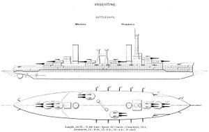 Rivadavia-class battleships