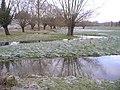 River Glyme at Radford Bridge - geograph.org.uk - 1657890.jpg