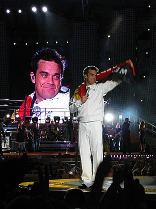 Robbie Williams in tournée in Germania nel 2006