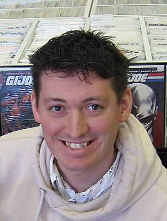 Robert Atkins (comics) - Robert Atkins at The Zone Comics on January 30, 2010.