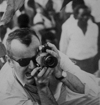 Robert Conley (reporter) - Conley in Kenya