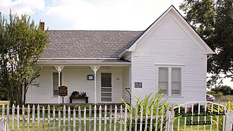 Robert E. Howard - The Howard house in Cross Plains, Texas. Now the Robert E. Howard Museum
