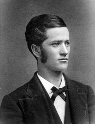 Robert M. La Follette Sr. - Robert M. La Follette's college yearbook photo, 1879
