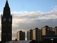 Rochdale Town Hall & 7 Sisters
