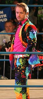 Drake Maverick British professional wrestler