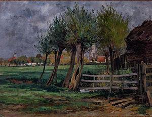 Rodolphe Wytsman - Rudolphe Wytsman: Rural Scene (Flemish title: Plattelandsgezicht)